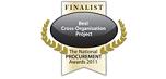 Finalist National Procurement Awards 2011: Best Cross Organisational Project