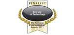 Finalist National Procurement Awards 2011: Best Use of Technology