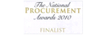 Finalist National Procurement Awards 2010: Private Procurement SME